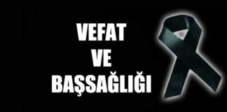 ŞADİYE RECEPKETHÜDA VEFAT ETTİ.13.02.2019