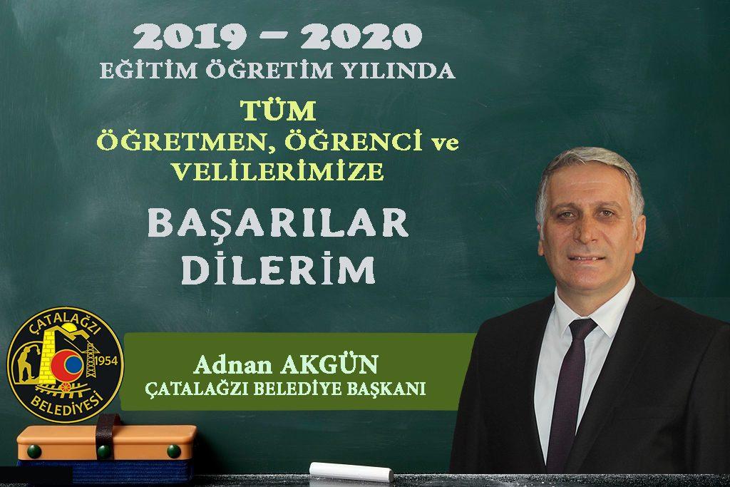 2019 – 2020 Eğitim Öğretim Yılı